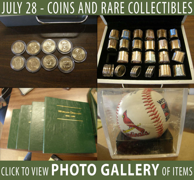 RARE COINS FOR AUCTION