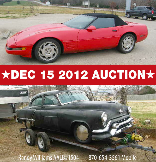 CAR AUTO AUCTION DEC 15