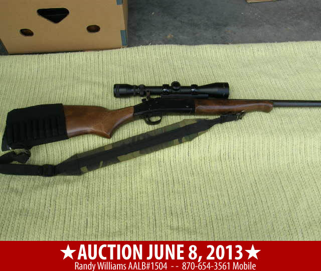 June 8 2013 AUction in Carroll County Arkansas