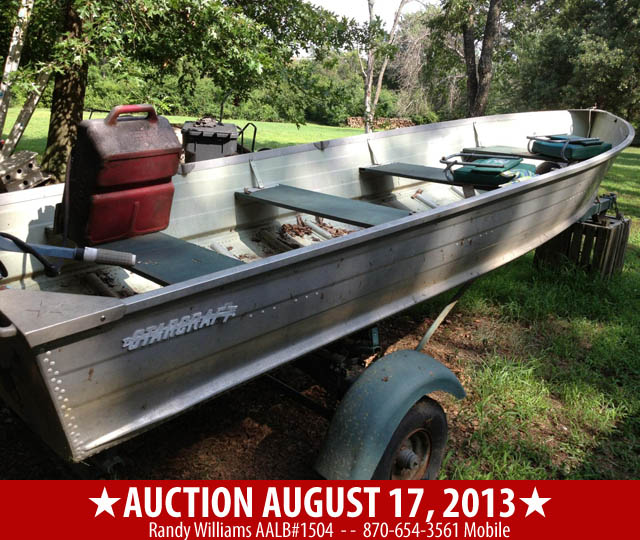 Public Auction August 27, 2013 in Rogers Arkansas Image 1