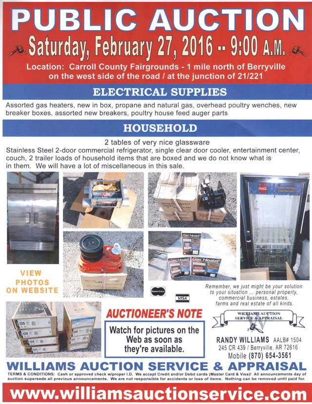 Auction Feb 27 2016