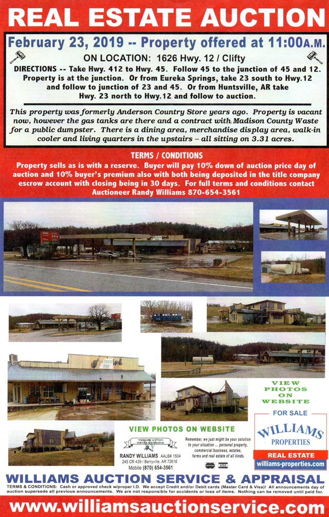 FEB 23 PROPERTY AUCTION