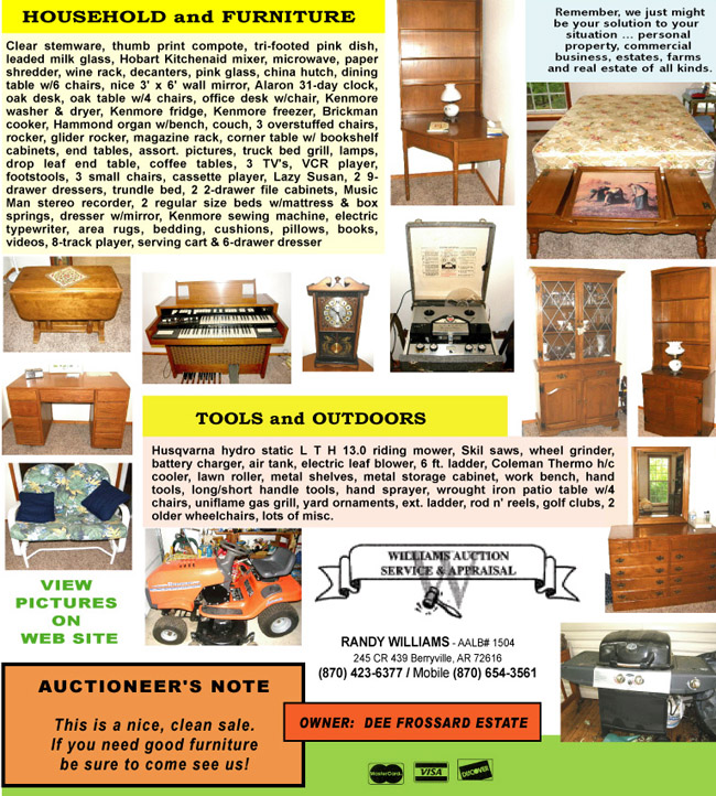 May 22 2010 Auction