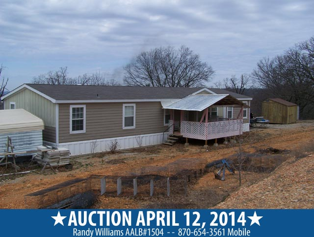 Auction april 12 in NW Arkansas 1