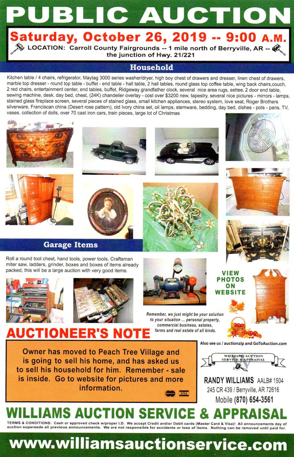 Auction Public Auction October 5 2019