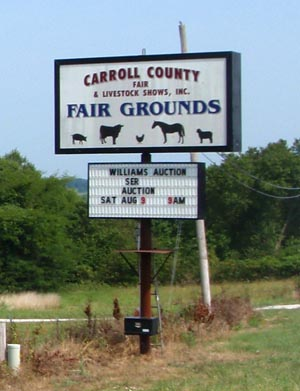 Carroll County Auction